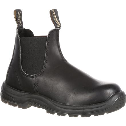 Blundstone Xtreme Safety Steel Toe Puncture-Resistant Twin-Gore Slip-On Work Shoe