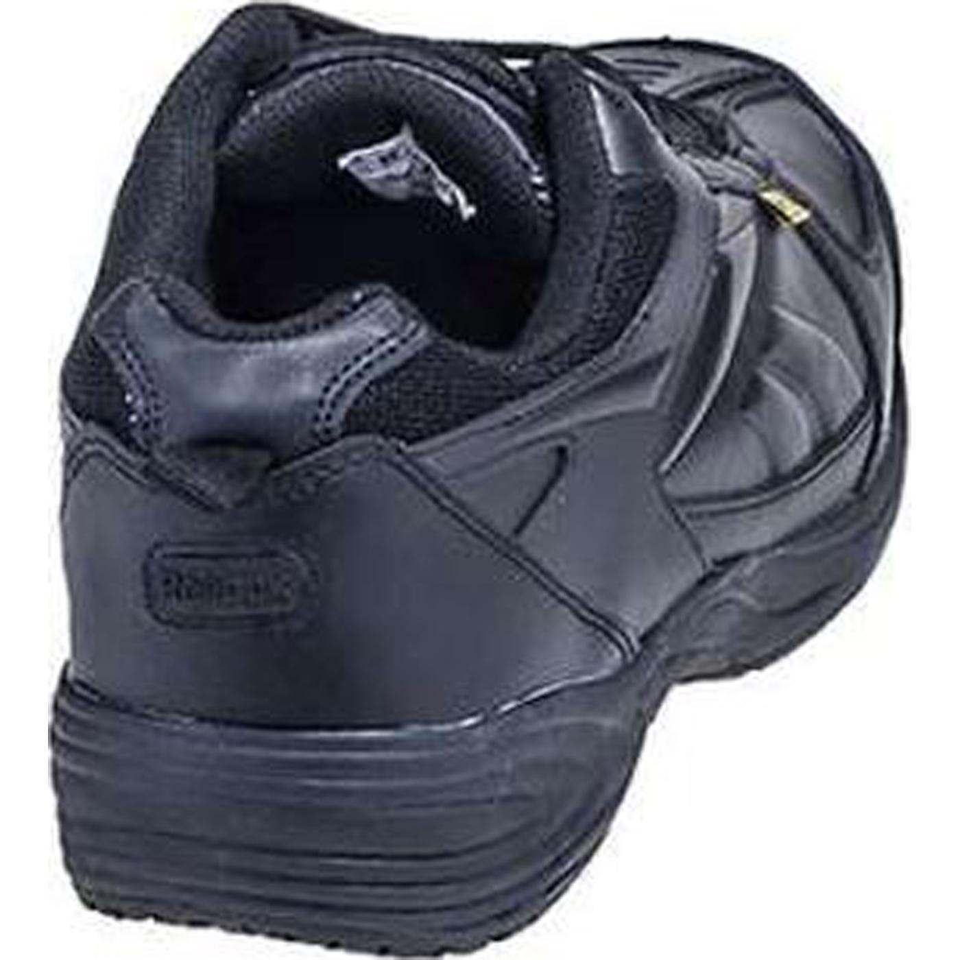 cac0c3c4d6f Black Athletic Reebok Composite Toe Met Guard Work Shoe