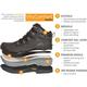 RefrigiWear EnduraMax Boot™ Unisex Composite Toe Waterproof 200g Insulated Work Hiker, , small