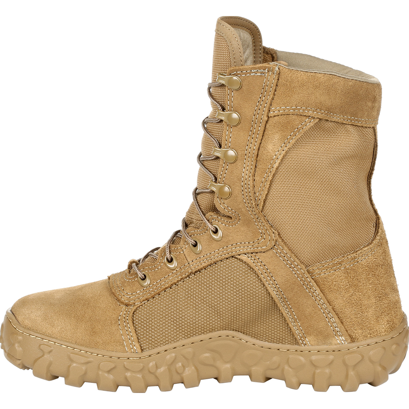 The Rocky S2V Military Boot is designed for the soldier looking for lightweight, quick-response military boot that has been top rated as one of the most comfortable boots on the market today. The S2V features a outsole design that wraps around the foot for an ultra low-profile. This makes the S2V an ideal boot for tactical environments that.