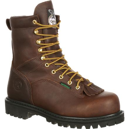 2266d3914d2 Georgia Boot Lace-to-Toe Steel Toe Waterproof Work Boot