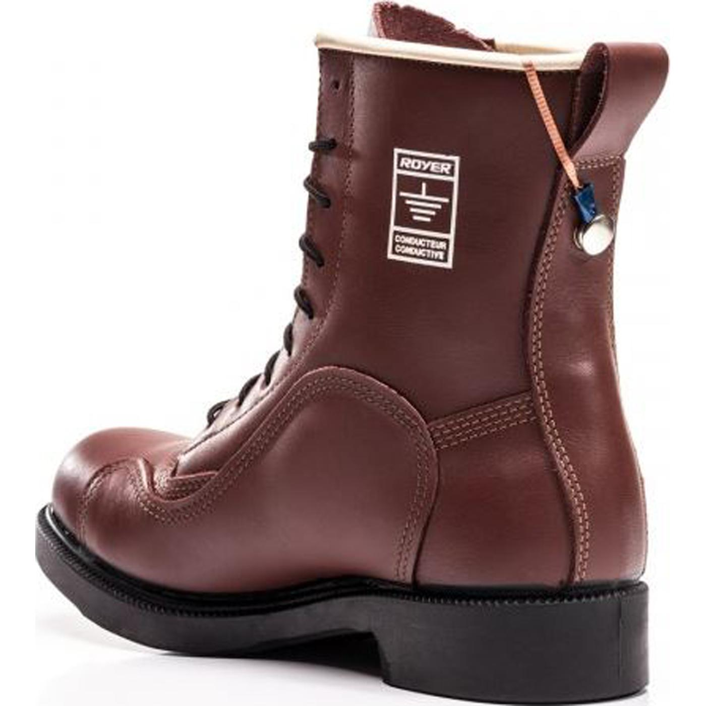Conductive Steel Toe Safety Shoes