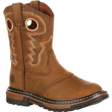 Rocky Kids' Original Ride Western Boot, , large