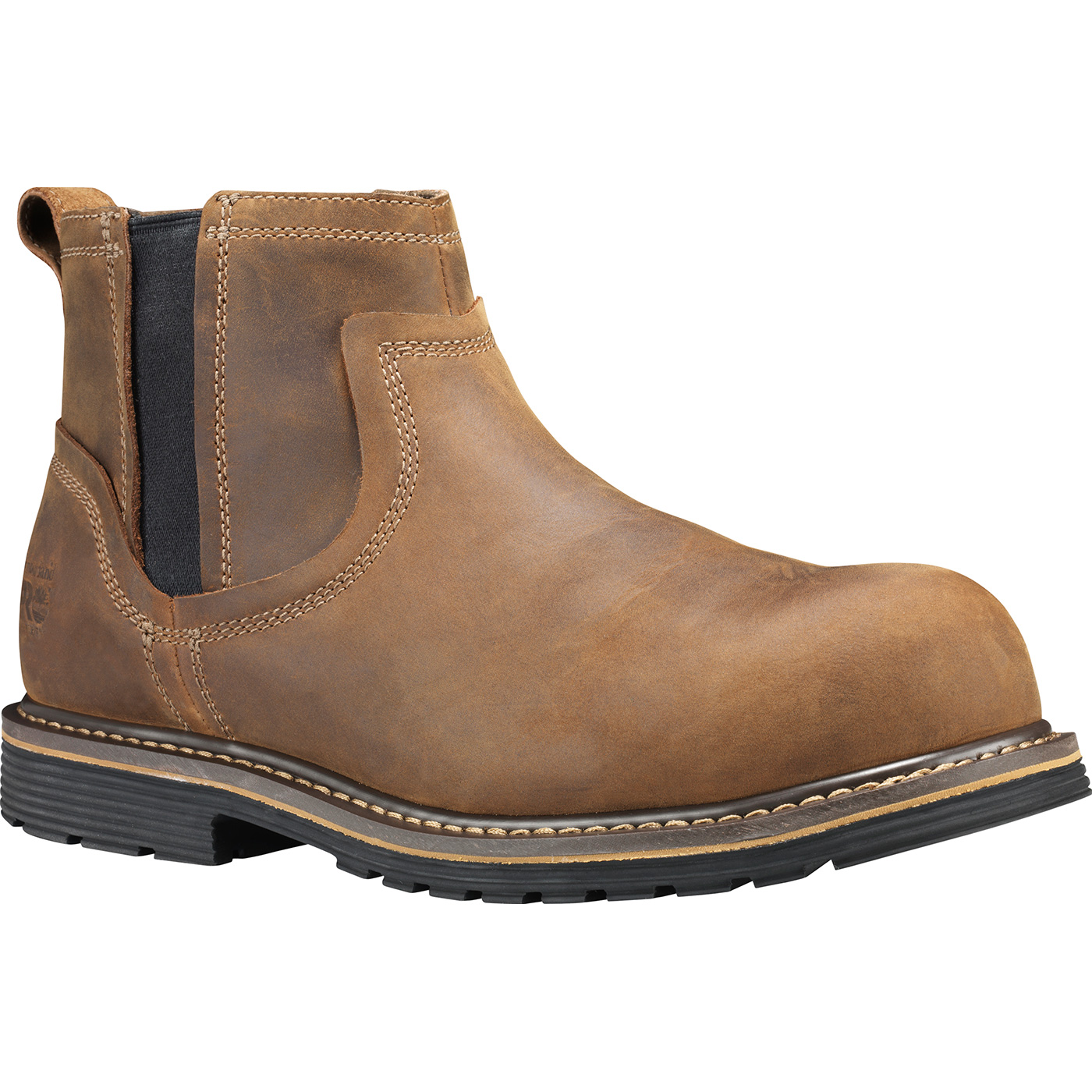 6b35254bc56 Timberland PRO Millworks Men's Composite Toe Electrical Hazard Leather  Romeo Work Boot