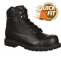QUICKFIT COLLECTION: Lehigh Safety Shoes Unisex Steel Toe Waterproof Work Shoe, , medium