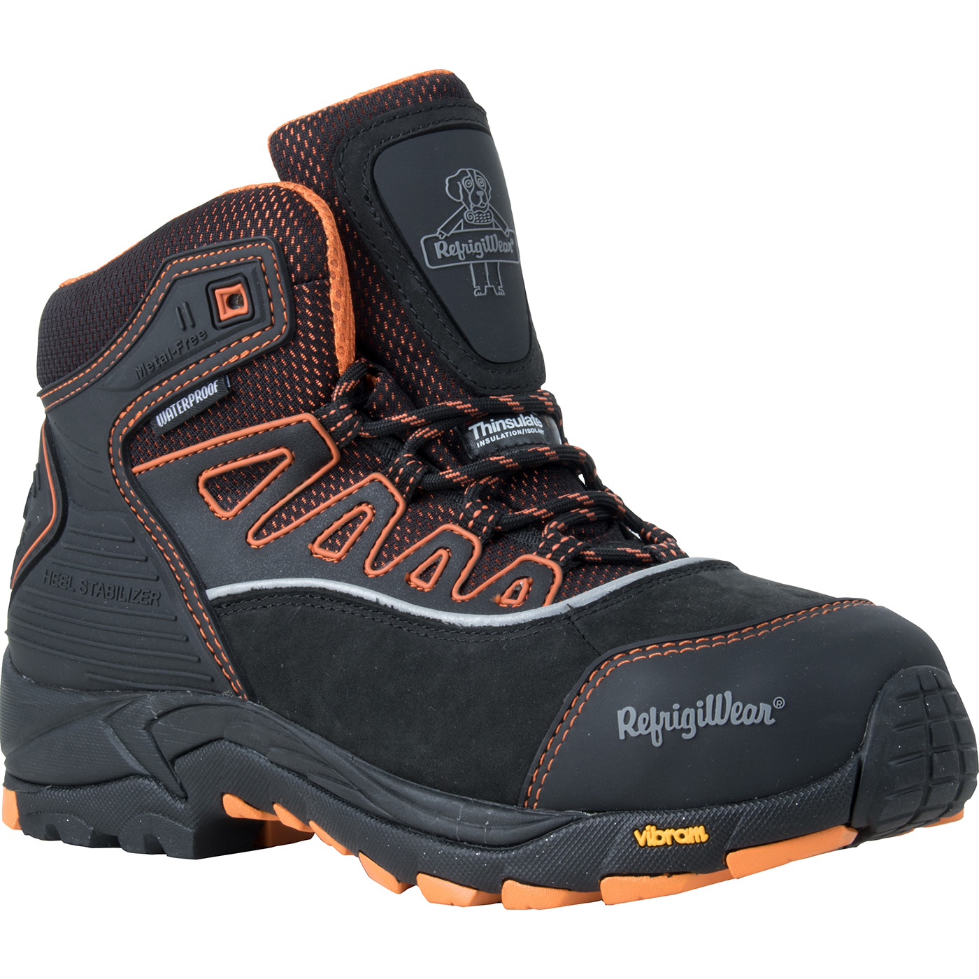 d41f45db40b RefrigiWear PolarForce™ Men's 6 inch Composite Toe 800G Insulated  Waterproof Work Hiker