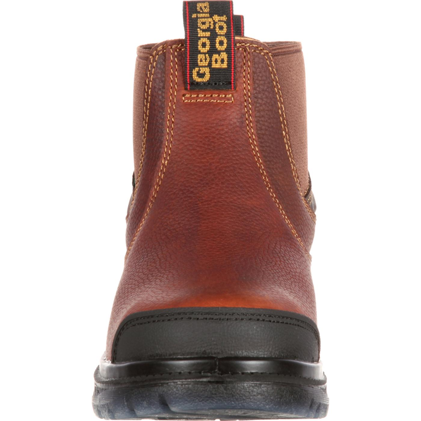 Georgia Zero Drag Waterproof Romeo Work Shoe By Georgia