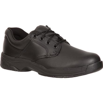 Rocky Women's SlipStop Plain Toe Oxford Duty Shoe, , large