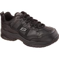 SKECHERS Work Soft Stride-Grinnel Men's Composite Toe Electrical Hazard Slip-Resistant Athletic Work Shoe, , medium