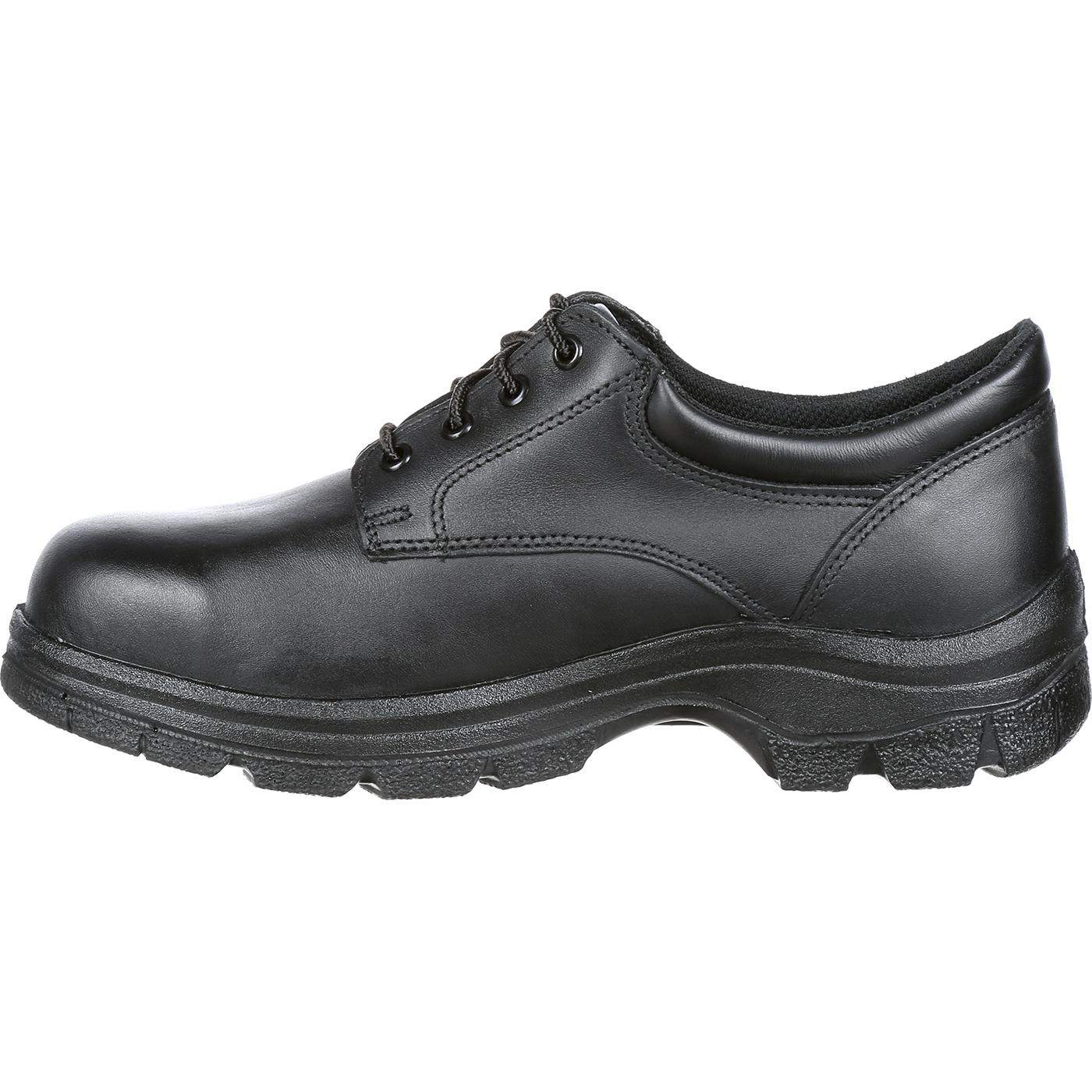 Black Oxford Duty Shoes
