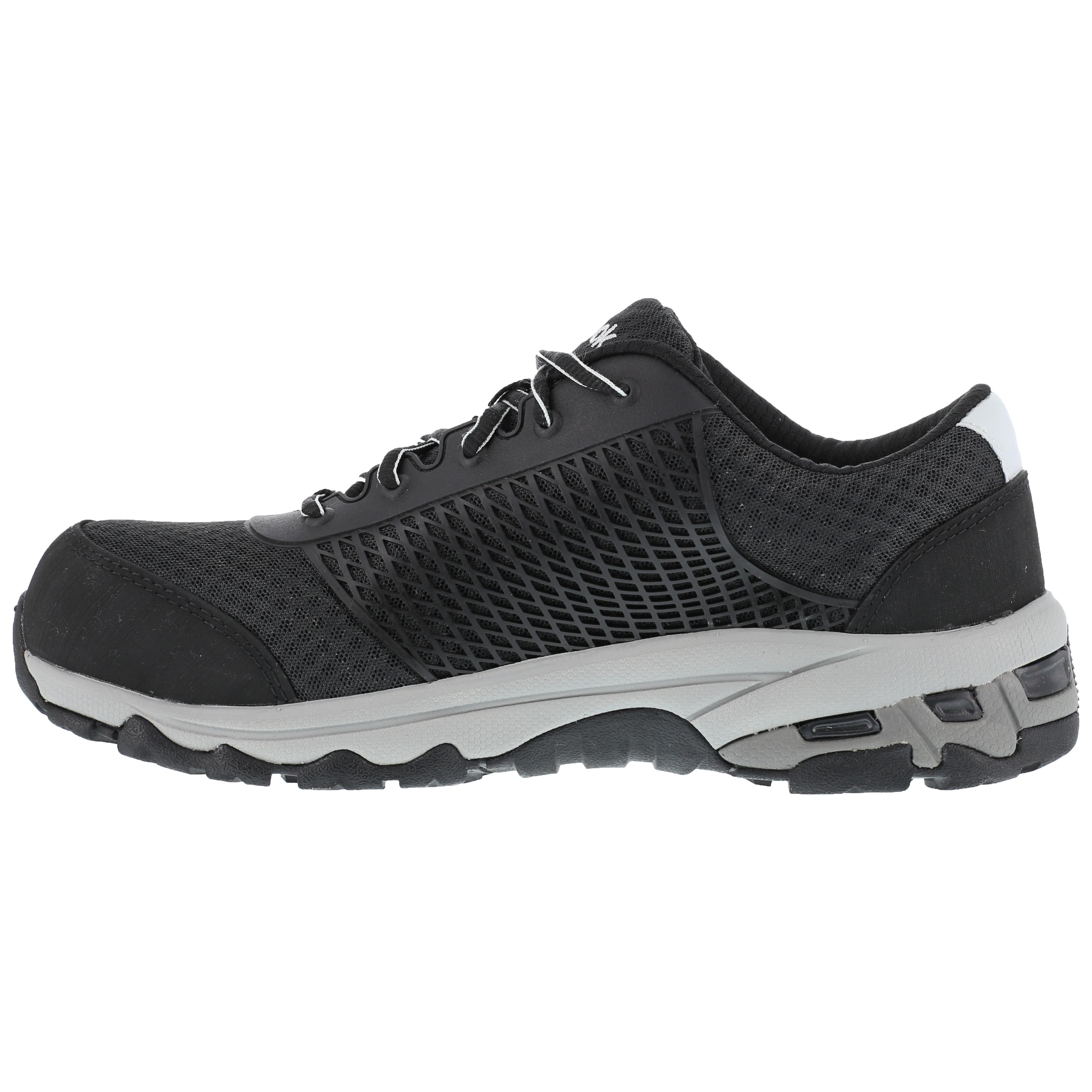 1675055e046 Reebok Heckler Composite Toe Static-Dissipative Work Athletic Shoe. Men s  black ...