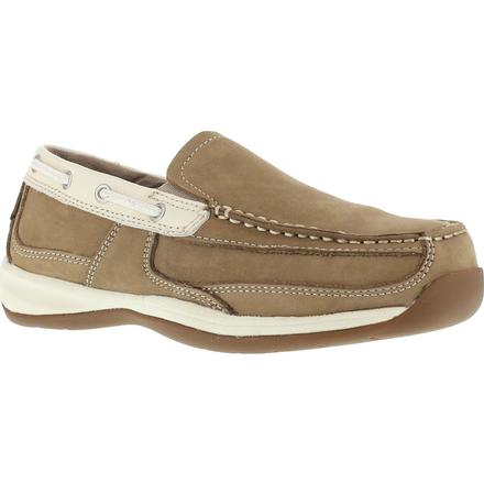 Rockport Works Sailing Club Women's Steel Toe Work Boat Shoe
