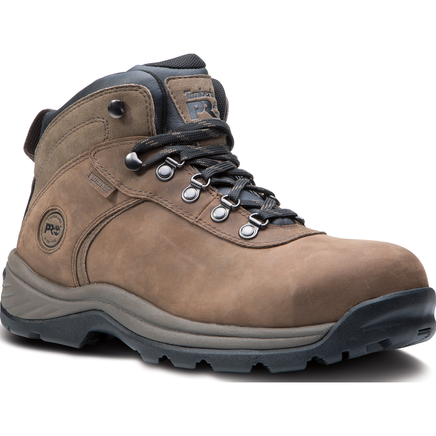 6963ca01dc87 Timberland PRO Flume Mid Men s Steel Toe Electrical Hazard Waterproof Work  ShoeTimberland PRO Flume Mid Men s Steel Toe Electrical Hazard Waterproof  Work ...