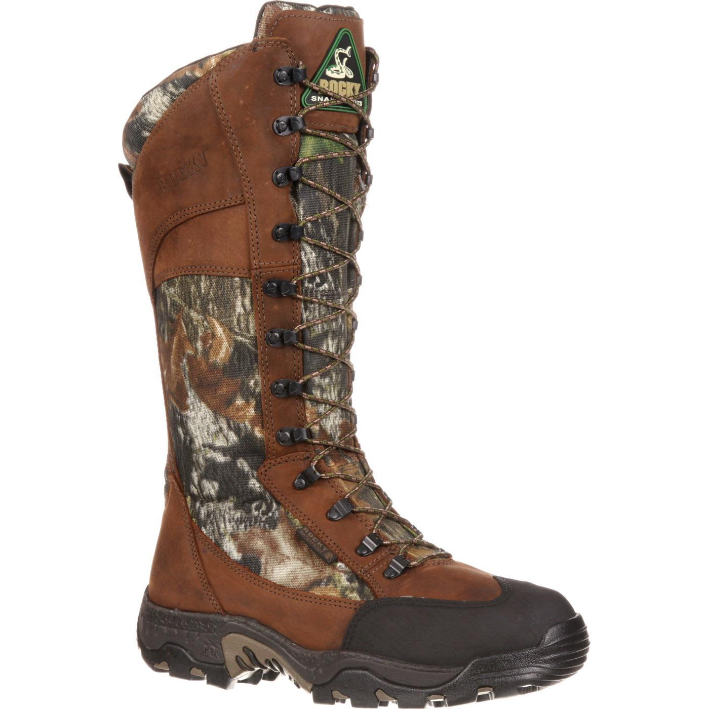 waterproof side zip snake boot rocky classic lynx fq0007534