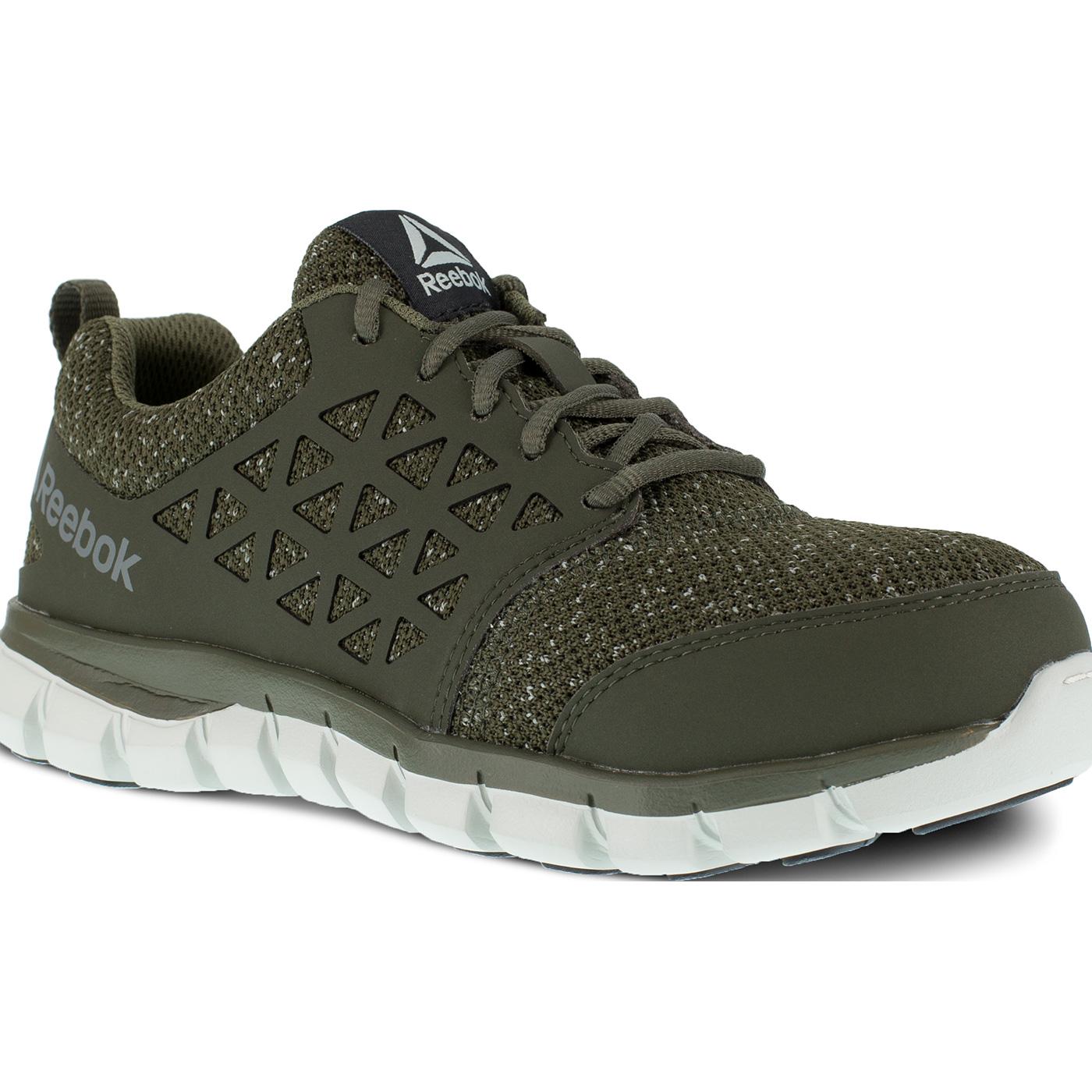 55768b497f9 Reebok Sublite Cushion Work Women's Composite Toe Electrical Hazard  Athletic Work Shoe