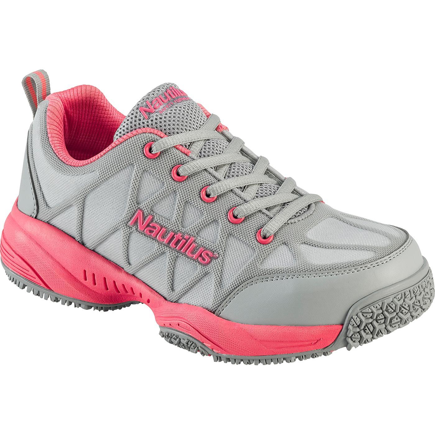 b004ef587c0 Nautilus Women's Composite Toe Slip-Resistant Work Athletic Shoe