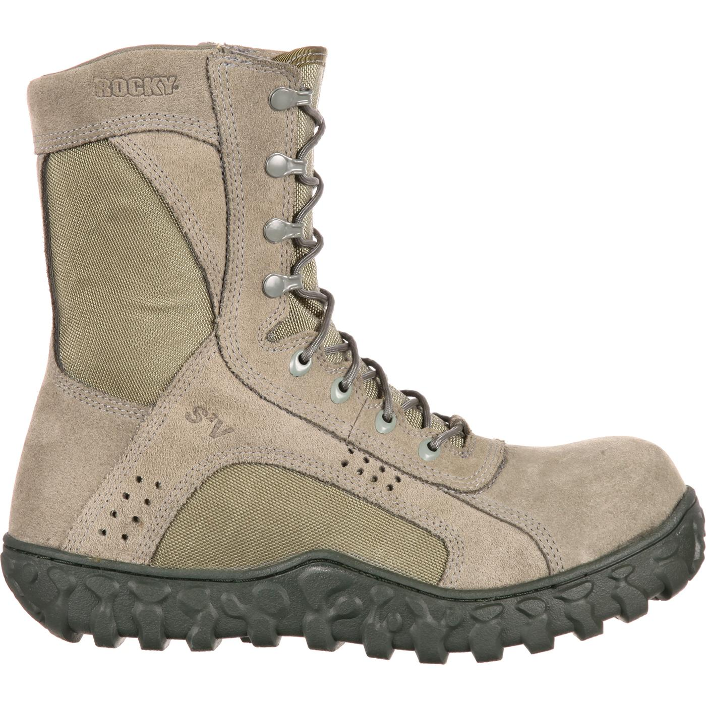 42b78ec50772 Rocky S2V Composite Toe Tactical Military Boot. Comfortable safety ...