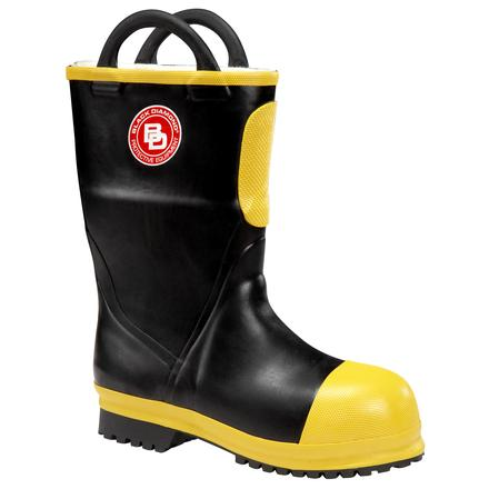 Black Diamond Unisex NFPA Insulated Rubber Firefighter Boot, , large