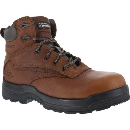 Rockport Works More Energy Composite Toe Waterproof Work Boot