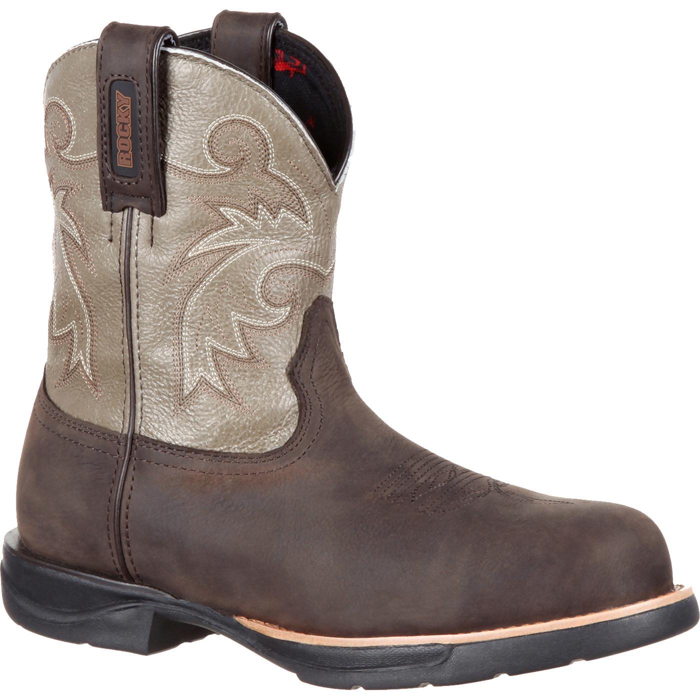 b9fe112795c Rocky LT Women's Composite Toe Waterproof Western Boot