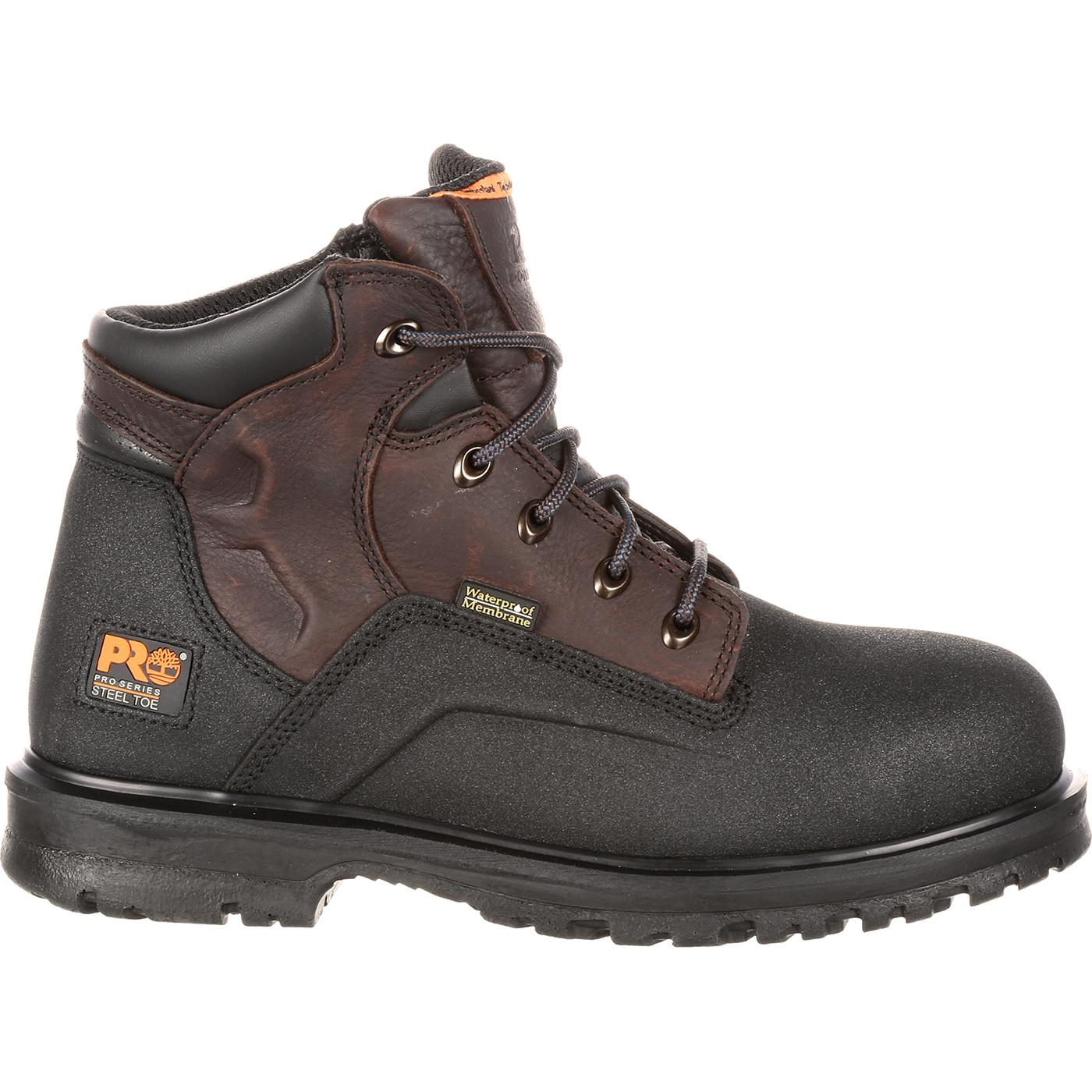 Timberland PRO Steel Toe Waterproof Work Boots #47001