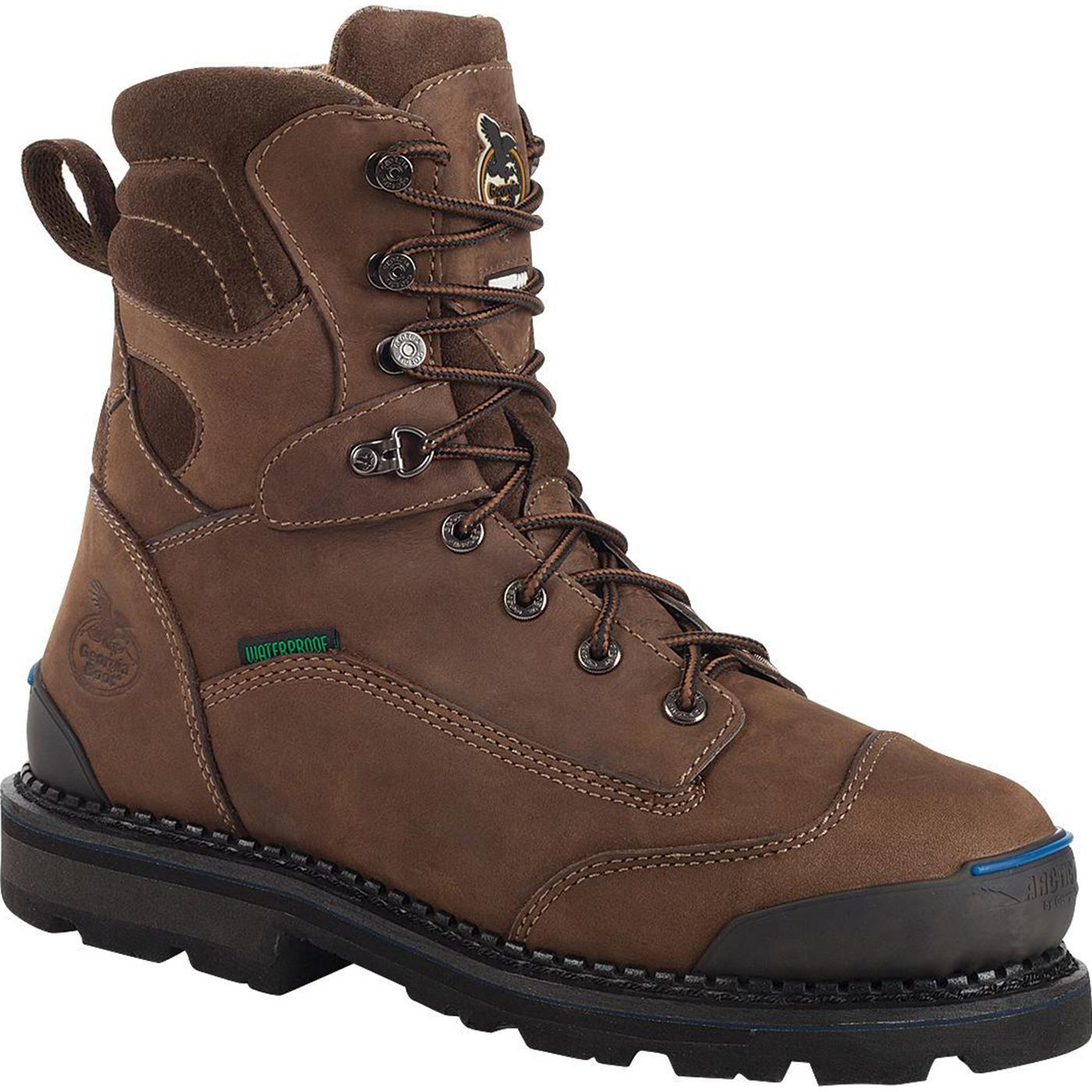 Georgia Arctic Grip Waterproof Insulated Work Boot G012