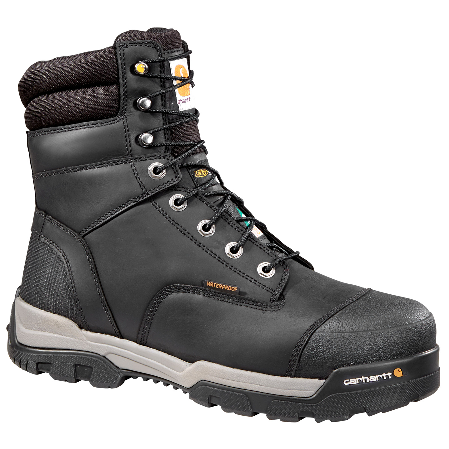 1953719e7ea Carhartt Ground Force 8 inch CSA Composite Toe Puncture Resistant Insulated  Waterproof Men's Work Boots