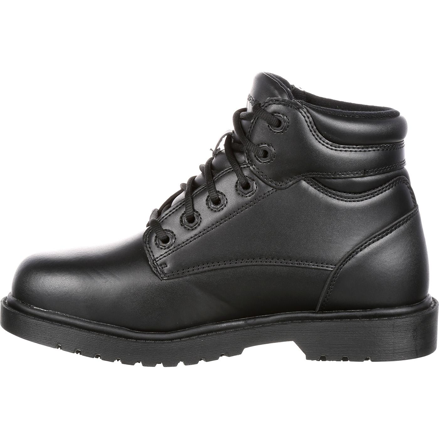 grabbers steel toe slip resistant work shoe g0019