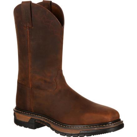 b53a895dff8 Rocky Original Ride Steel Toe Western Boot
