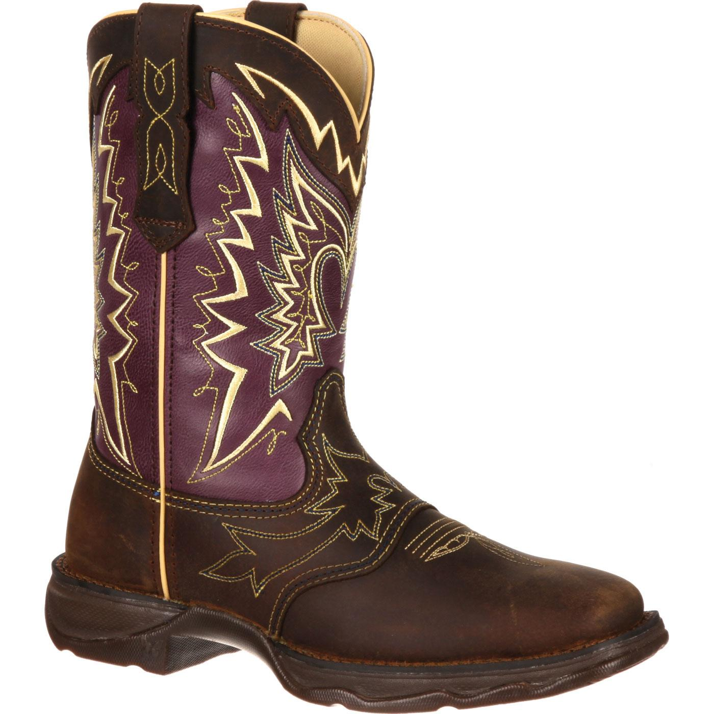b743531537e Lady Rebel by Durango Women's Let Love Fly Western Boot