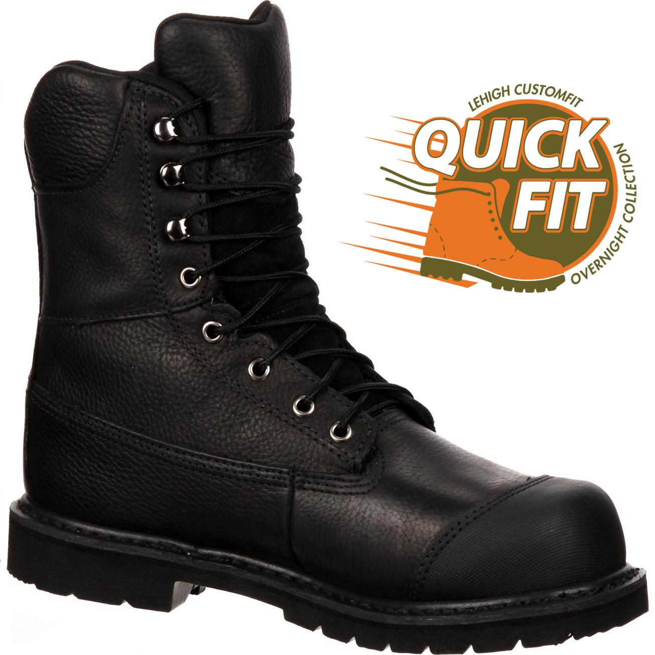 ce664bc2d1b1 QUICKFIT Collection  Lehigh Safety Shoes Unisex Steel Toe Waterproof 200g  Insulated Work BootQUICKFIT Collection  Lehigh Safety Shoes Unisex Steel Toe  ...