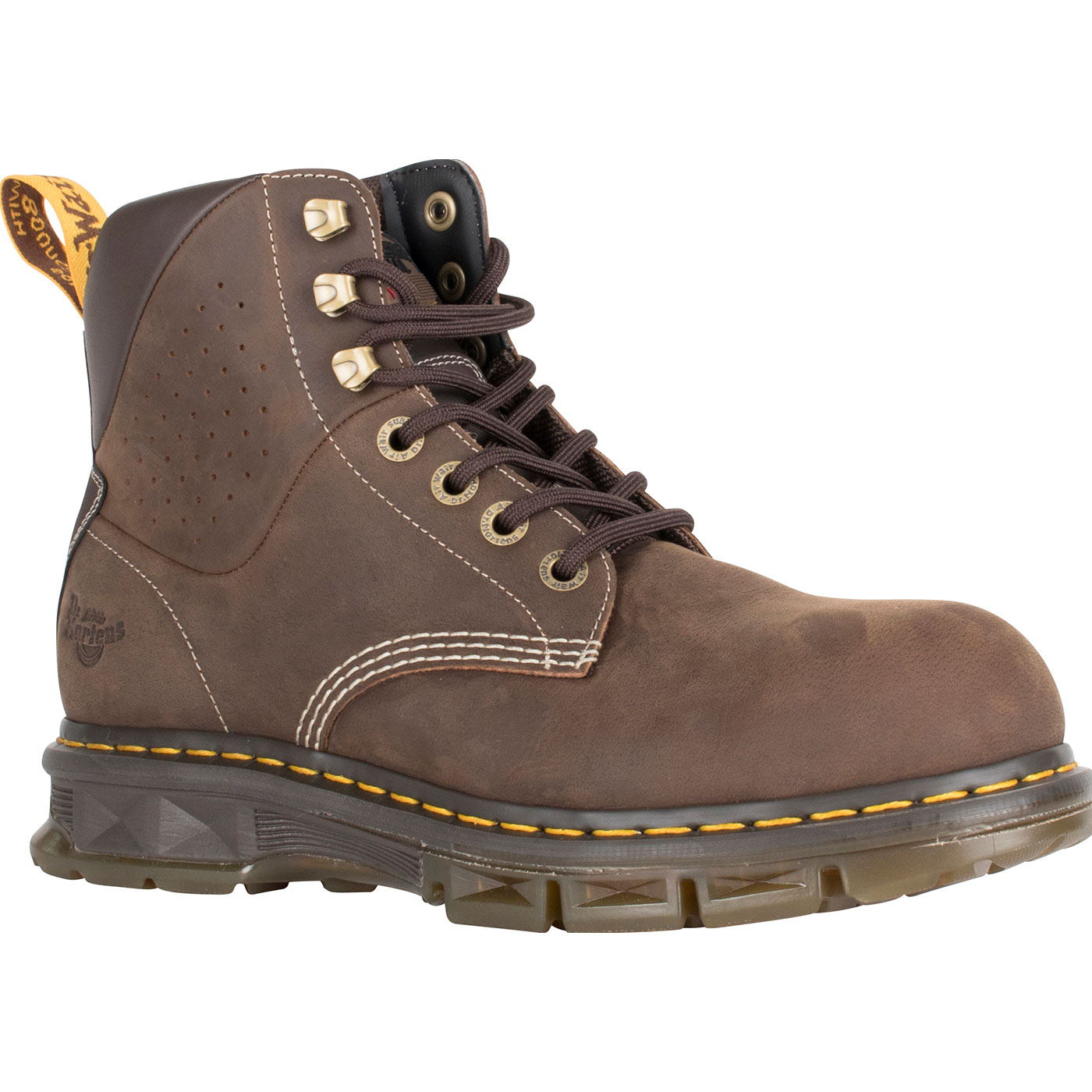 368952ac6c2 Dr. Martens Britton Men s 6 inch Steel Toe Electrical Hazard Work BootDr.  Martens Britton Men s 6 inch Steel Toe Electrical Hazard Work Boot