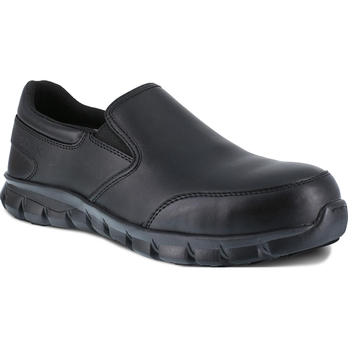fc0f8ec5fda Reebok Sublite Cushion Work Men s Composite Toe Static Dissipative Slip-On  Oxford ShoeReebok Sublite Cushion Work Men s Composite Toe Static  Dissipative ...