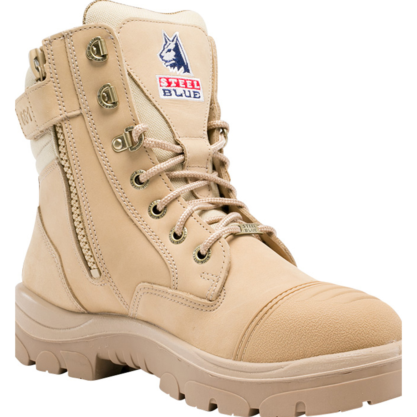 62487afa5a6 Steel Blue Southern Cross Zip Men's 6 inch Steel Toe Electrical Hazard Work  Boot