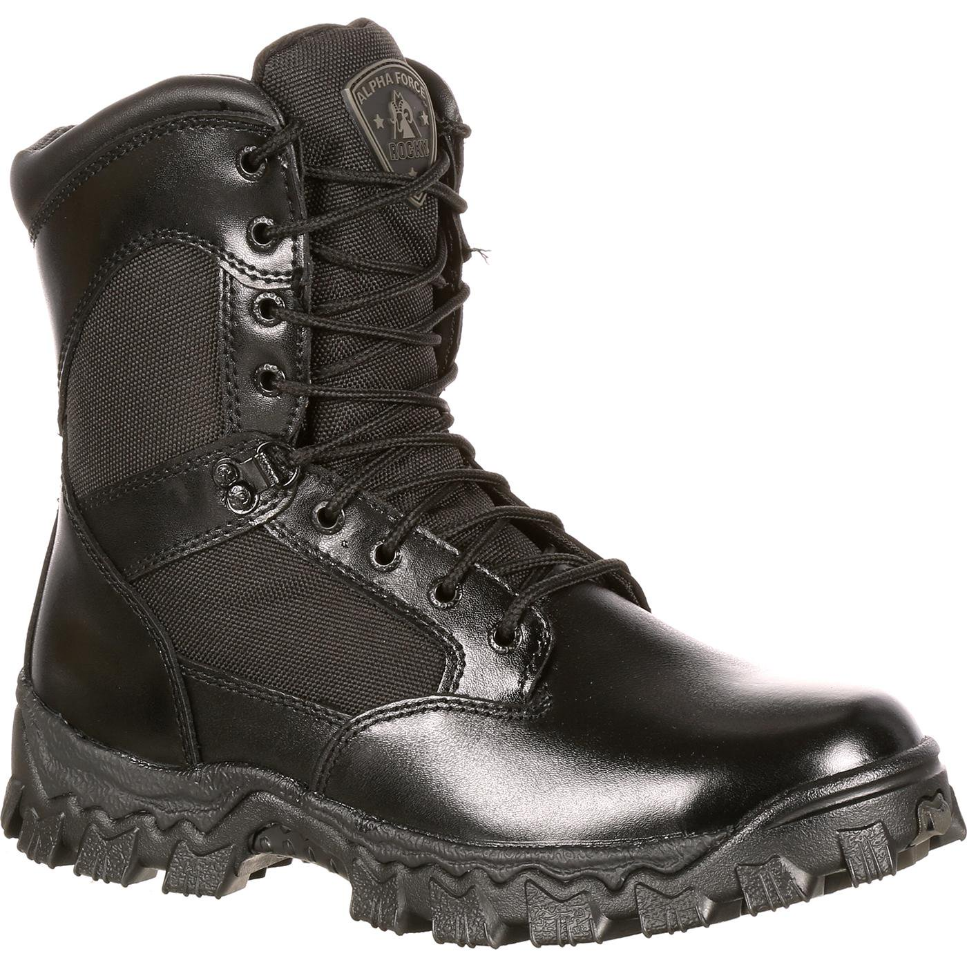 4e3c9e37ed2 Rocky AlphaForce Women's Waterproof Duty Boot