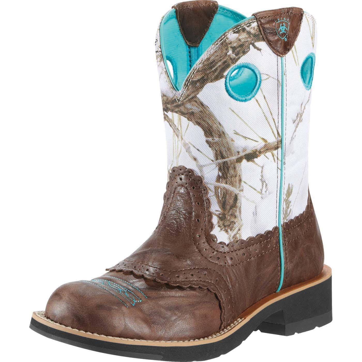 c47034acd9e86 Ariat Women's Fatbaby Cowgirl Western BootAriat Women's Fatbaby Cowgirl  Western Boot,