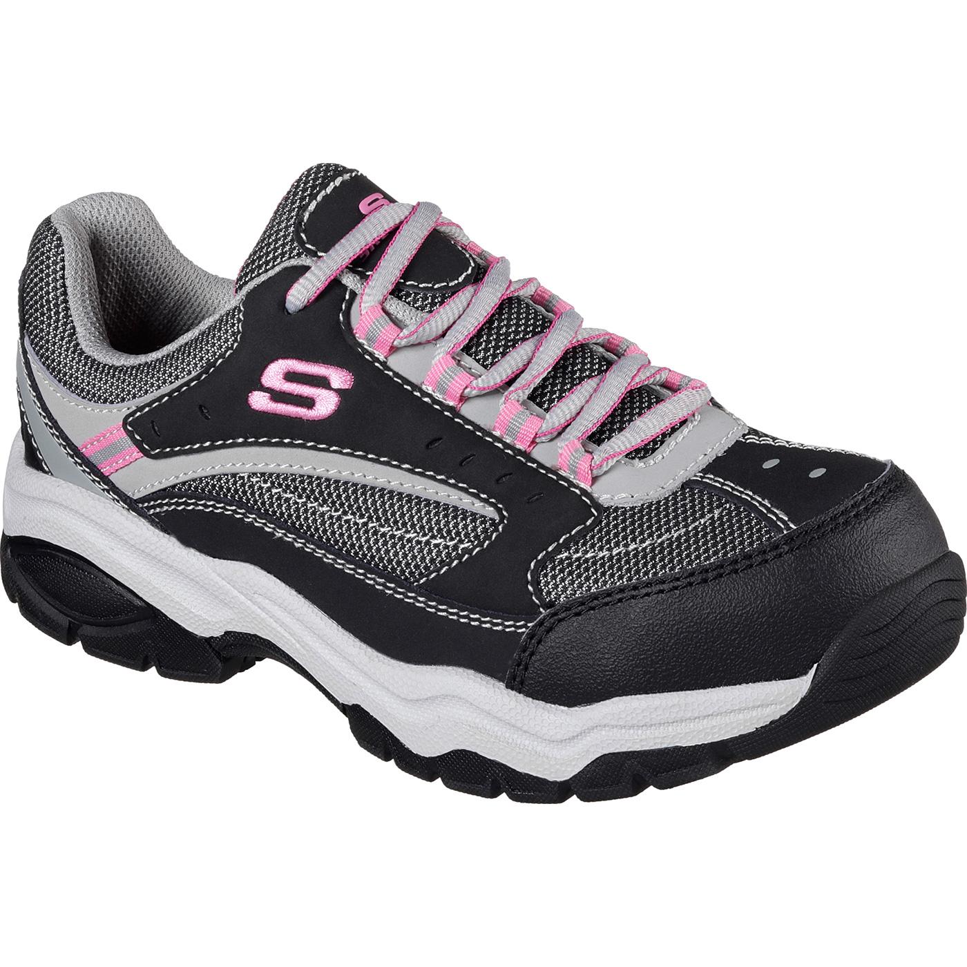 SKECHERS Work Biscoe Women s Steel Toe Electrical Hazard Slip-Resistant  Athletic ShoeSKECHERS Work Biscoe Women s Steel Toe Electrical Hazard  Slip-Resistant ... be0ab8968