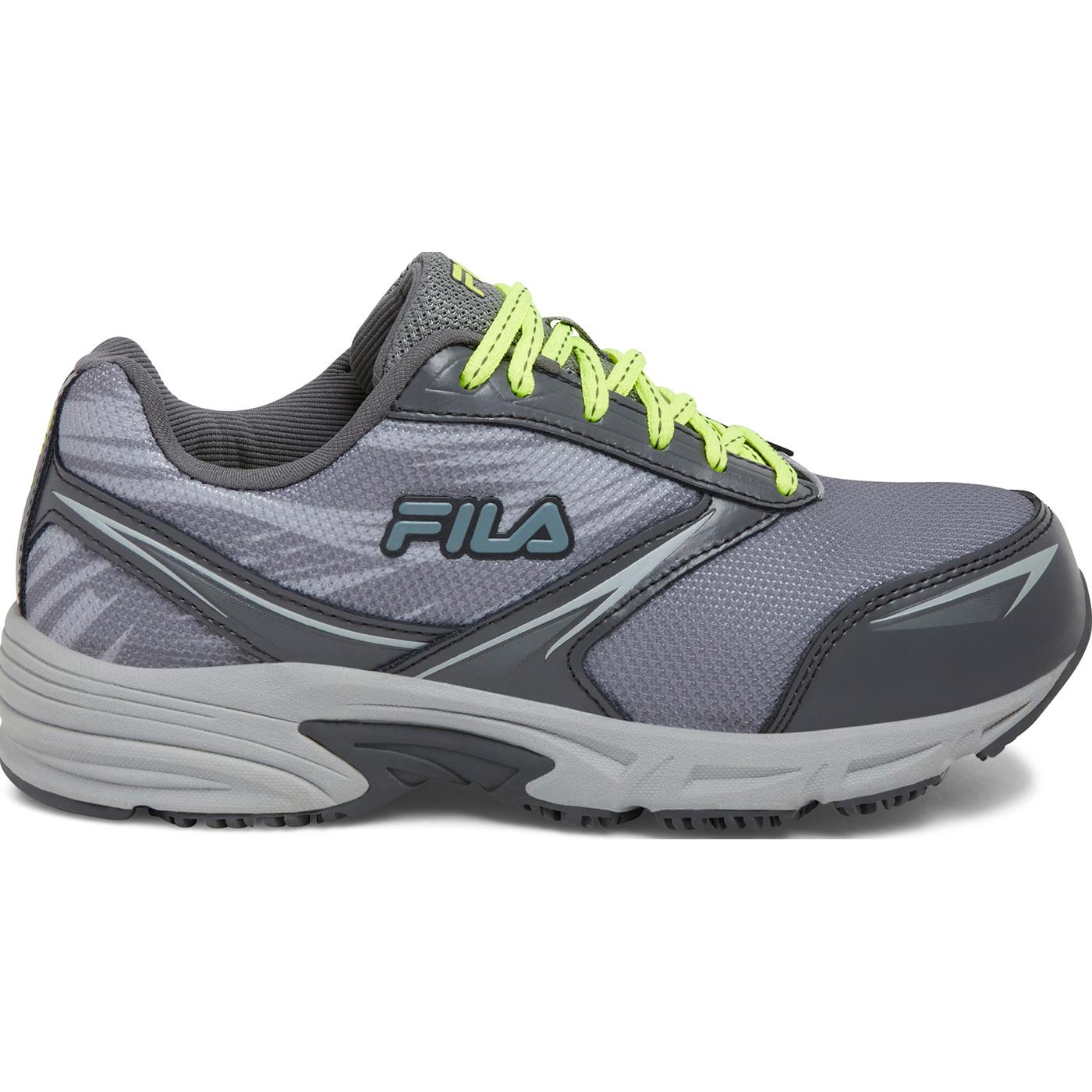 FILA Memory Meiera 2 Women s Gray Composite Toe Work Athletic Shoe ... 44304776038