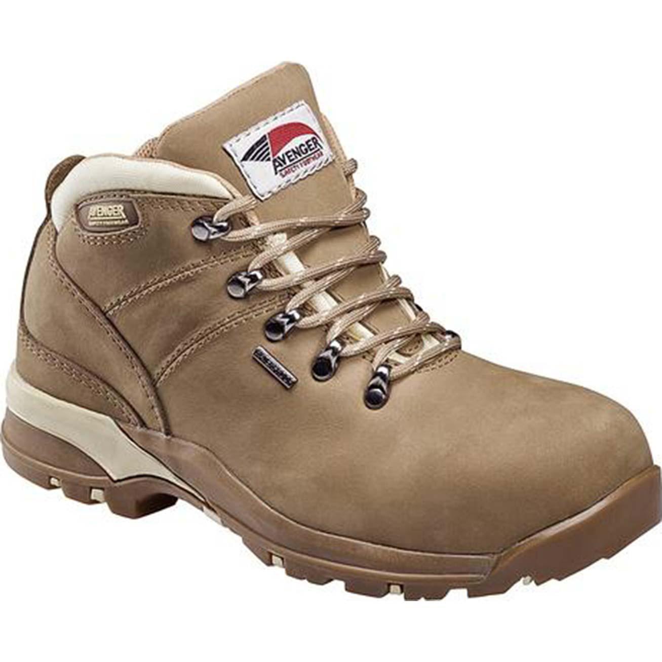 4be89c0e Avenger Women's Composite Toe Waterproof Hiker Work Boot