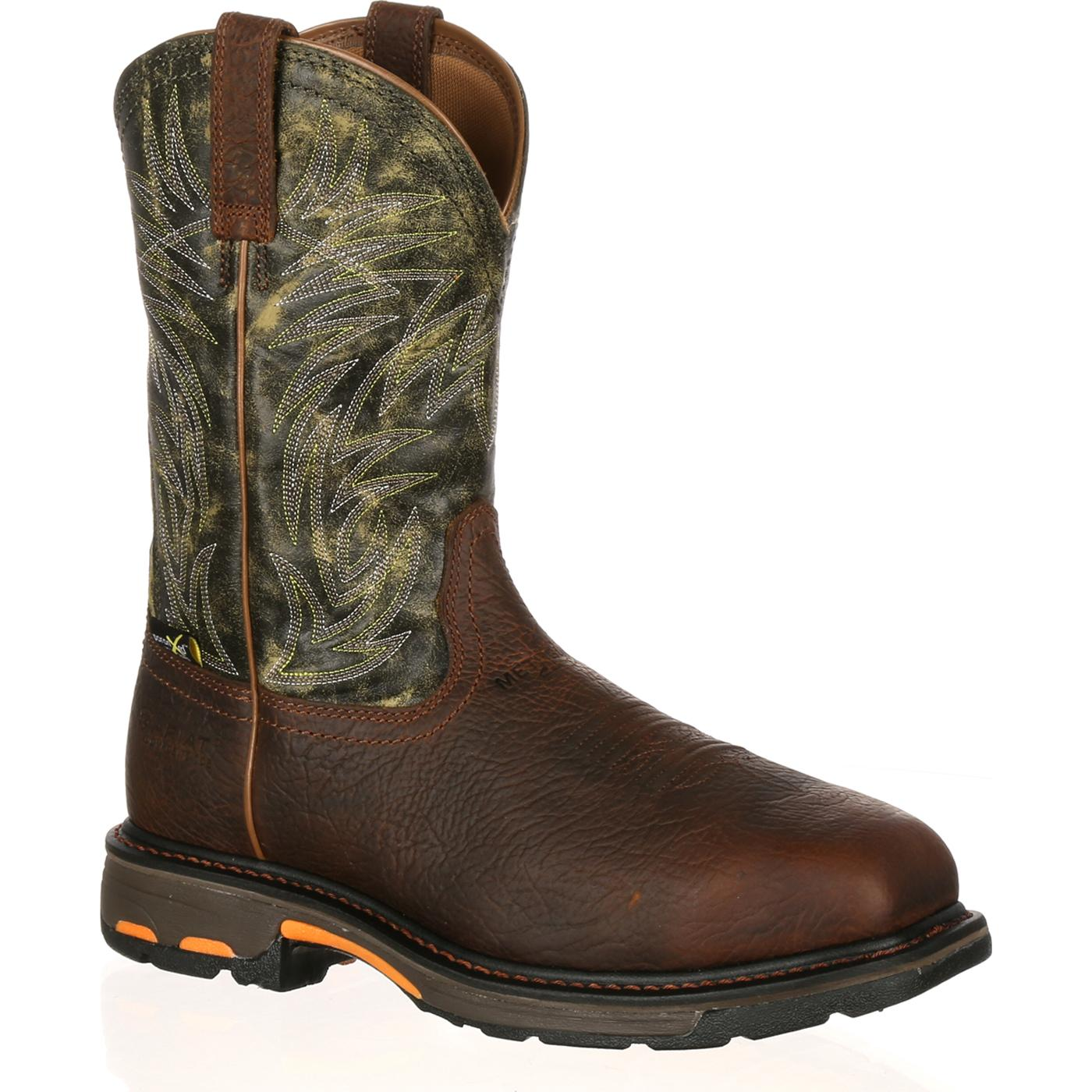 Ariat WorkHog Composite Toe Internal Met-Guard Western Work Boot ...