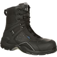 Rocky 1st Med Carbon Fiber Toe Puncture-Resistant Side-Zip Waterproof Public Service Boot, , medium