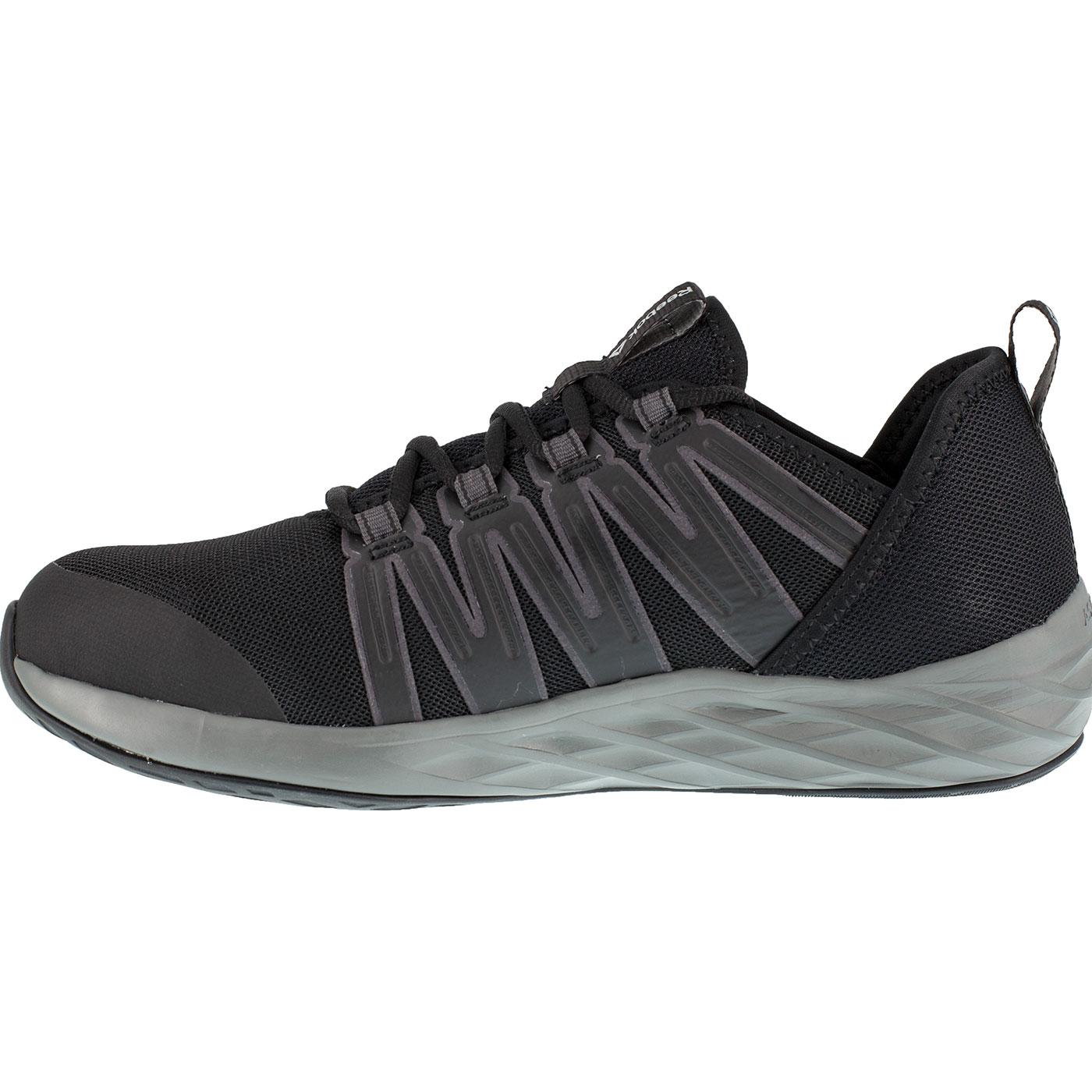 Loading zoom. Reebok Astroride Work Men s Steel Toe Electrical Hazard  Athletic Oxford Shoe c2b26b612