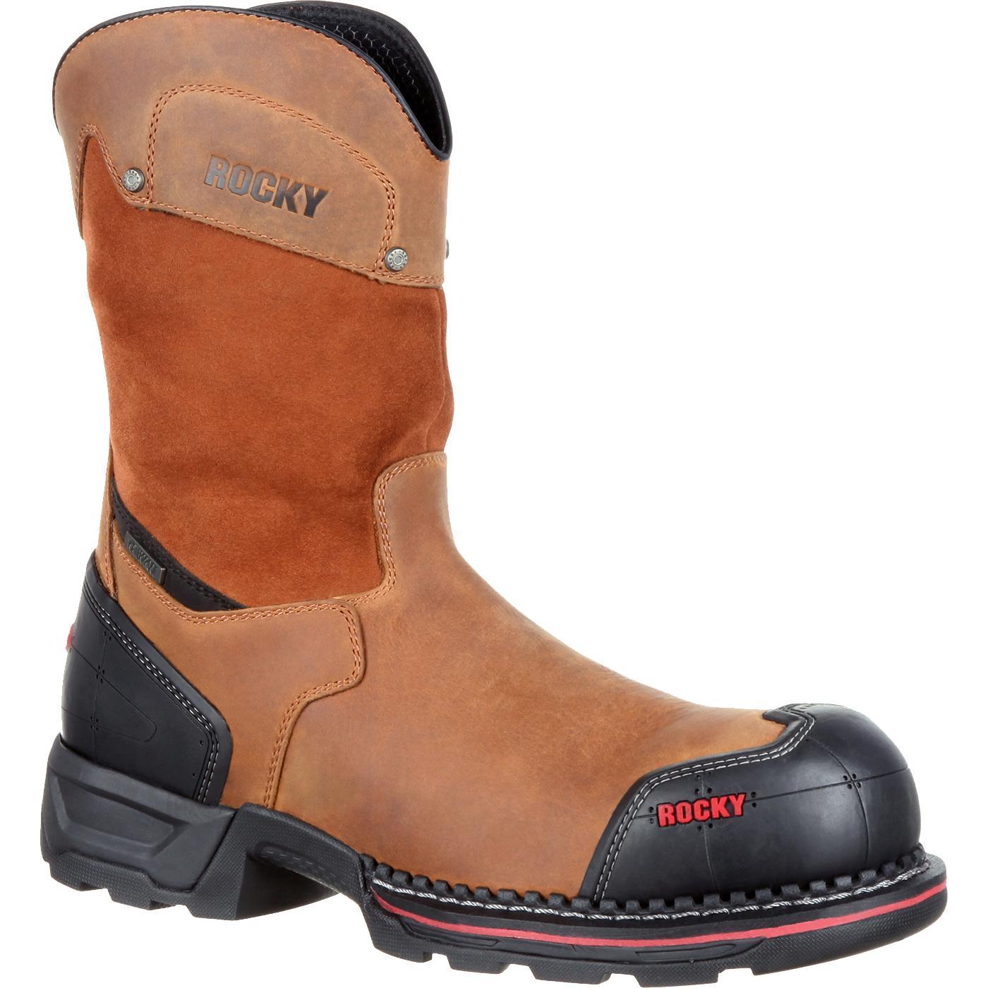 Rocky Maxx: Men's Pull-On Composite Toe Waterproof Work Boots