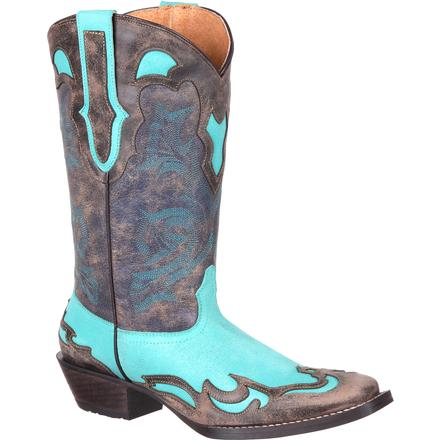 Durango Dream Catcher Women's Wingtip Western Collar Boot, , large