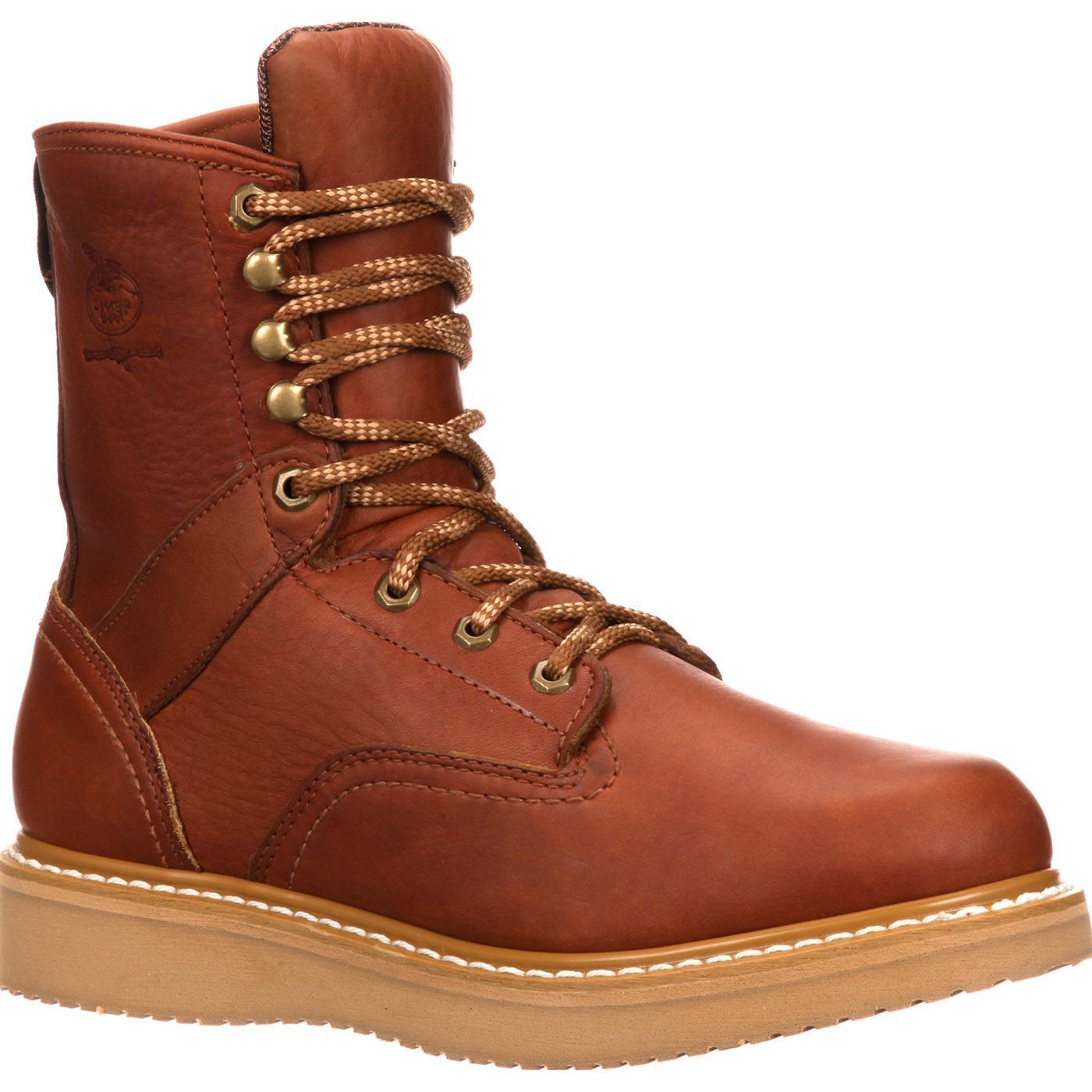 3817d3a5a7f Georgia Boot Wedge Work BootGeorgia Boot Wedge Work Boot