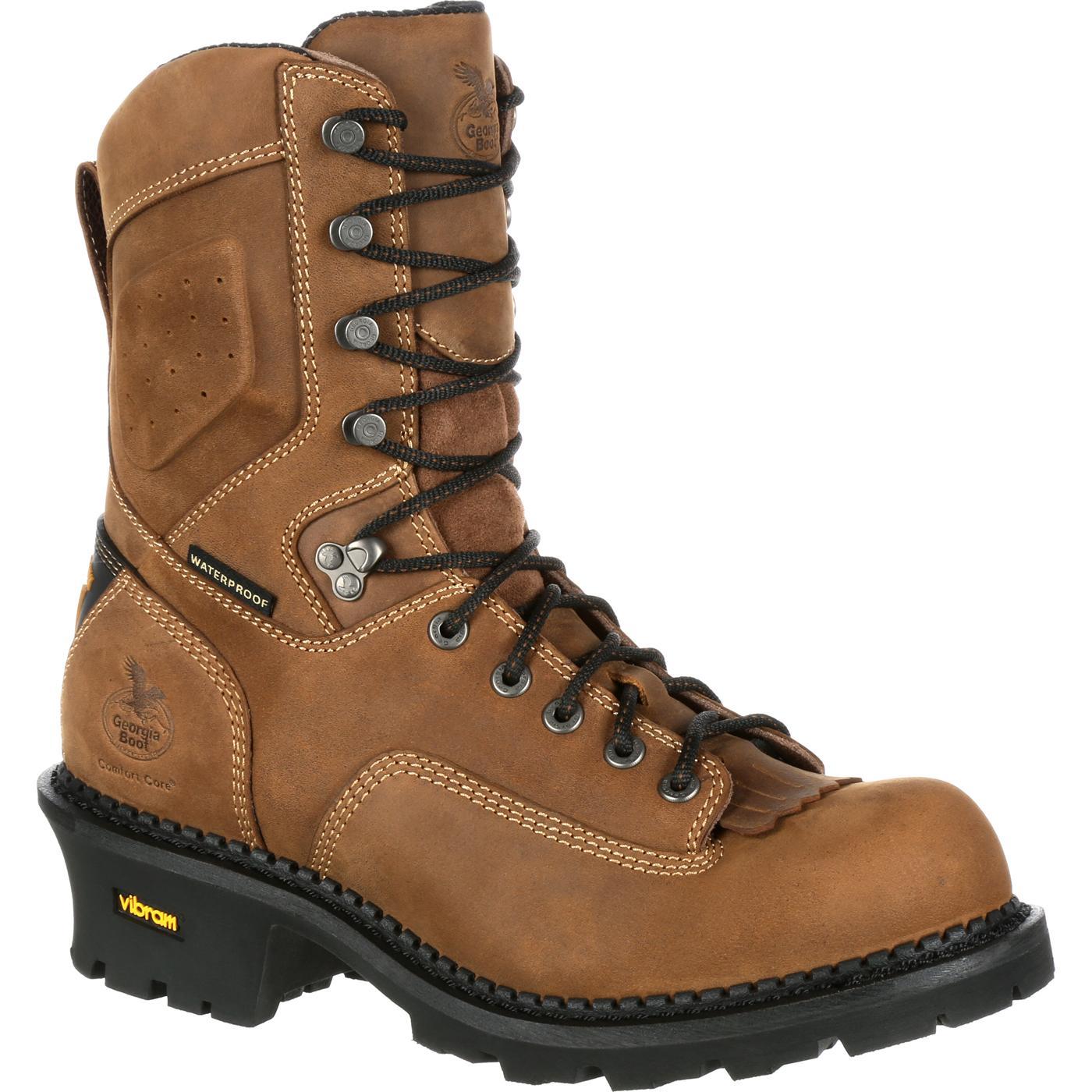 88c2ef9465e Georgia Boot Comfort Core Logger Waterproof Work Boot