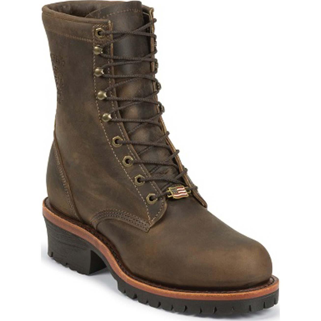 Chippewa Steel Toe Logger Work Boots 20091