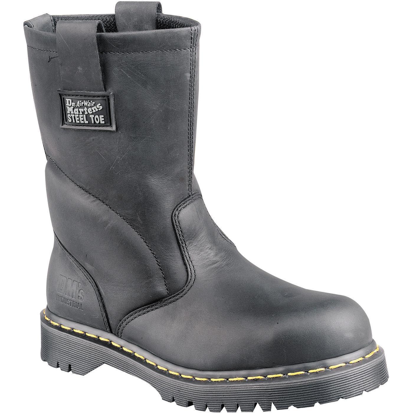c5550f2667b Dr. Martens Icon Steel Toe Wellington Work Boot