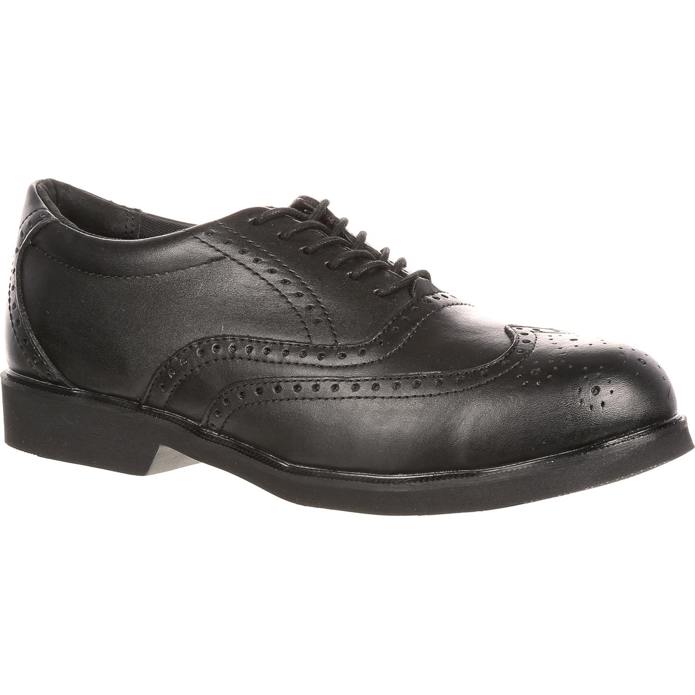Rockport Works Dressports Steel Toe Dress Wingtip, , large