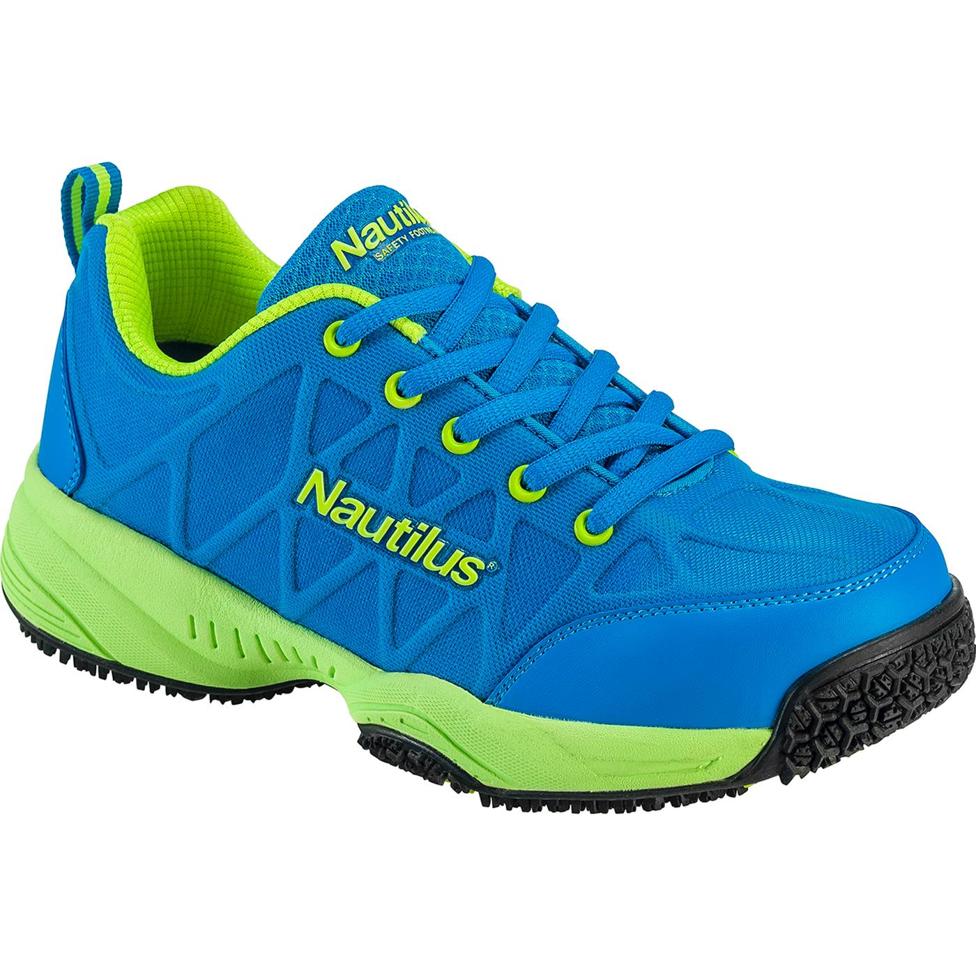 Nautilus Women s Composite Toe Slip-Resistant Work Athletic ShoeNautilus Women s  Composite Toe Slip-Resistant Work Athletic Shoe 7b82a999df